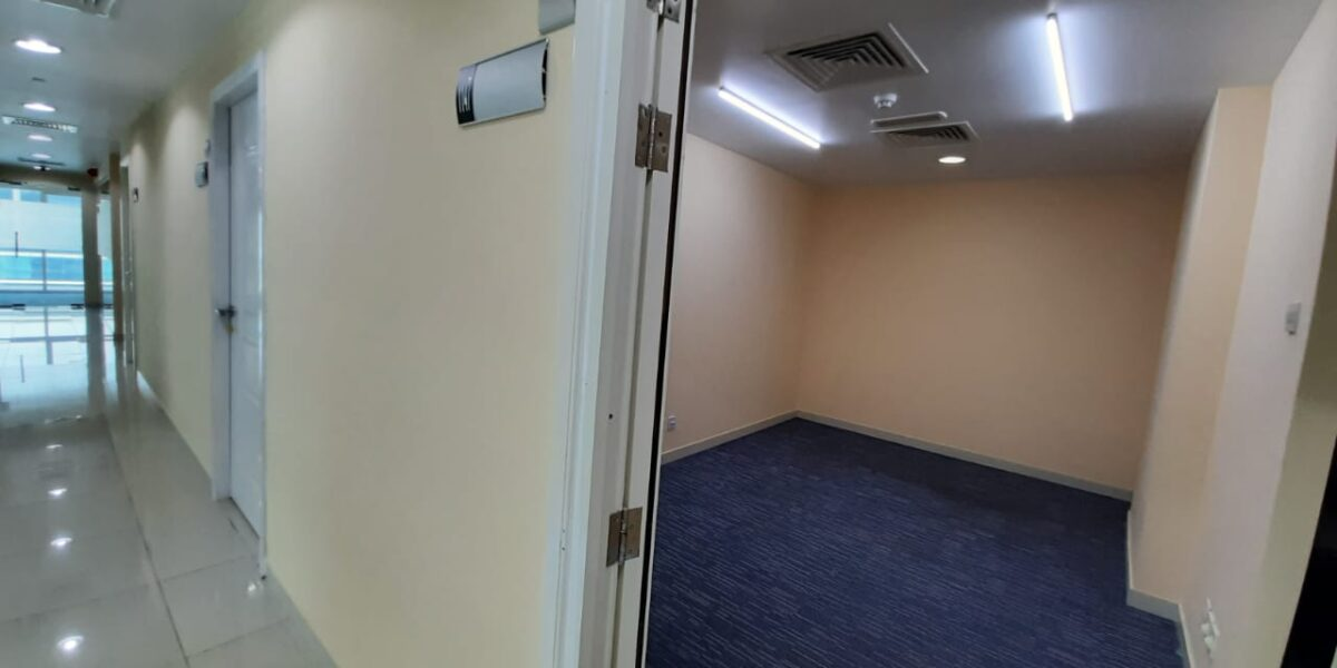 COMFORTABLE OFFICE UNITS FOR LEASE IN MAZYAD MALL TOWERS