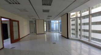Spacious with great view fitted office unit for rent