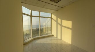 Fitted office unit for rent in Cornich Building