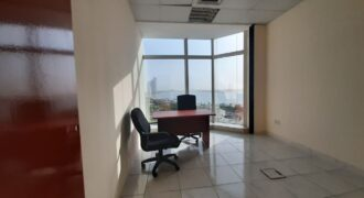 COMFORTABLE OFFICE FOR LEASE WITH GREAT LOCATIN IN ABUDHABI CITY