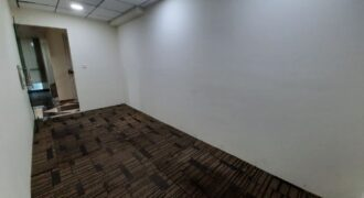 Unfurnished but ready to shift in office space for rent!