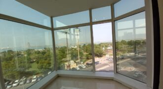 Spacious and beautiful sea side view office unit for lease in Cornich Building